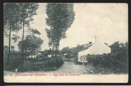 +++ CPA - MONCEAU SUR SAMBRE - Rue Bois De Goutroux    // - Charleroi