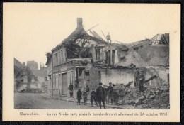 WAEREGHEM - WAREGEM *** Keukeldamstraat - Rue Keukeldam, Après Le Bombardement  Du 24 Octobre 1918  *** - PRACHTKAART - Waregem
