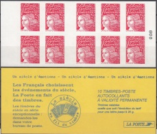 France 1997 Yvert Carnet 3085 - C6 Neuf ** Cote (2012) 12.00 Euro Marianne De Luquet Le Siècle Au Fil Du Timbre - Uso Corrente