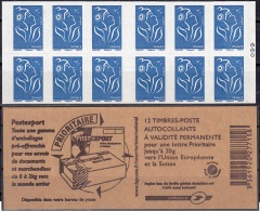 France 2008 Yvert Carnet 4127 - C1 Neuf ** Cote (2012) 18.00 Euro Marianne De Lamouche Postexport - Usados Corriente