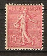 France, N° 129 ** R De République Avec Ombre