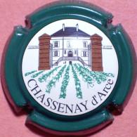 Chassenay D'Arce N°11, Polychrome, Contour Vert - Champagne