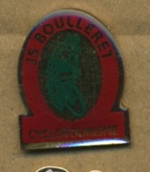 H# - PIN´S:  JS BOULLERET CYCLOTOURISME - Cycling