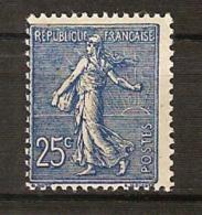 France, N° 132 A * Foncé