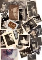 Gros Lot De 120 Photos Sympa Sur Le Thème Nouveaux Nés Et Tout Jeunes Bébés Avec Et Sans Légendes De 1900 à 1960 - Anonymous Persons