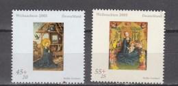 Germany Deutschland 2005,2V,set,christmas,kerstmis,weihnachten,noël,navidad,natale,MNH/Postfris(A2773) - Kerstmis