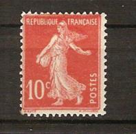 France, N° 135 A * E De République En Forme De F, Type 2 A