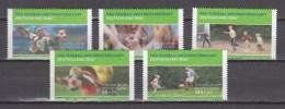 Germany Deutschland 2003,5V,set,football,fussball,voetbal,fútbol,calcio ,MNH/Postfris(A2764)