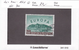 San Marino 1961 - Nr. 700 - Europa CEPT - Gestempelt Cancelled - Used Stamps