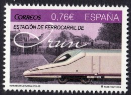 ESPAGNE SPANIEN SPAIN ESPAÑA 2014 ESTACION DE FERROCARRIL IRÚN 0.76€ ED 4914 YV  4626 MI 4921 SG 4890 SC 4003 - 2011-... Neufs
