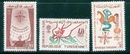 Tunisie Y&T N°545 à 547 Neufs Avec Charnière * - Tunesien (1956-...)