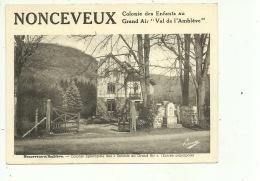 """Nonceveux Colonie Des Enfants Au Grand Air """" Val D'Amblève """" - Aywaille"""