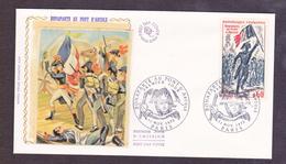 ENVELOPPE PREMIER JOUR - BONAPARTE AU PONT D ARCOLE - 11 NOVEMBRE 1972 - FDC