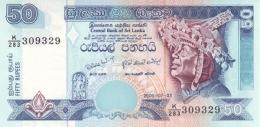 SRI LANKA 50 RUPEES 3.7.2006 P-117e UNC  [ LK116f ] - Sri Lanka
