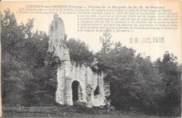 LEUGNY SUR CREUSE - 86 - Ruines De La Chapelle De Notre Dame De Prélong - RARE - ENCH - - France