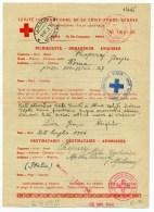 WW2 - COMITE INTERNATIONALE DE LA CROIX ROUGE GENEVE - Délégation De Rome - 1944 - Red Cross