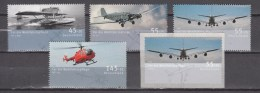 Germany Deutschland 2008,5V,set,airplanes,vliegtuigen,flugzeuge,avions,avións,aerei ,MNH/Postfris(A2781) - Avions