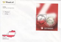 Österreich 2002 Nr. Block 17 - 250 Jahre Zahlenlotto - FDC Ersttagsbrief - FDC