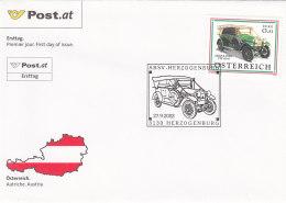 Österreich 2002 Nr. 2392 -Automobile - FDC Ersttagsbrief - FDC
