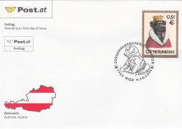 Österreich 2002 Nr. 2393 - Haustiere - FDC Ersttagsbrief - FDC