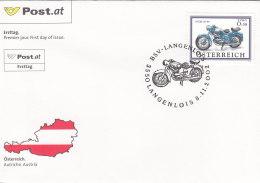 Österreich 2002 Nr. 2398 - Motorräder - FDC Ersttagsbrief - FDC