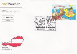 Österreich 2002 Nr. 2400 - Comic Serie The Phillis  - FDC Ersttagsbrief - FDC