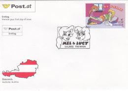 Österreich 2002 Nr. 2372 - Comicserie The Philis - FDC Ersttagsbrief - FDC