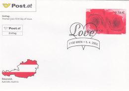 Österreich 2002 Nr. 2373 - Grußmarke - FDC Ersttagsbrief - FDC