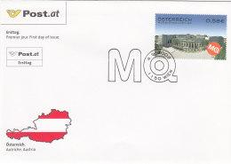 Österreich 2002 Nr. 2388 - Museumsviertel Wien - FDC Ersttagsbrief - FDC