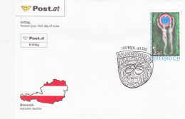 Österreich 2002 Nr. 2389 - Jahr Der Auslandsösterreicher - FDC Ersttagsbrief - FDC