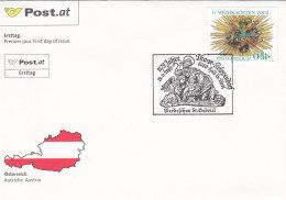 Österreich 2002 Nr. 2401 - Weihnachten - FDC Ersttagsbrief - FDC