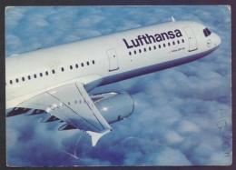 POSTCARD - Aeroplane AIRBUS A321-100 Of LUFTHANSA Air Lines, Unused - 1946-....: Era Moderna