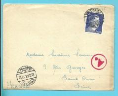 "Brief Met Stempel ZWICKAU Op 10/12/43 Met Stempel BETRIEBSLAGER / WEISENBORN -> ""France"" (VK) - Deutschland"
