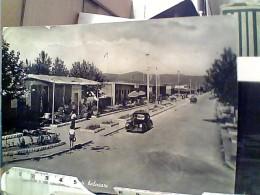 MARINA DI CARRARA-STABILIMENTI  BAGNI RISTORANTE VIALE AUTO CAR V1956  FP5335 - Carrara