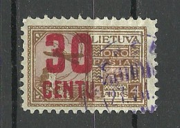 LITAUEN Lithuania 1922 Michel 183 O - Lithuania