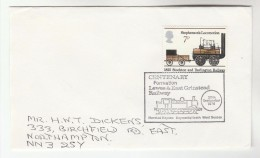 1976 Horsted Keynes GB Stamps COVER EVENT Pmk STEAM TRAIN , LEWES RAILWAY - Trains