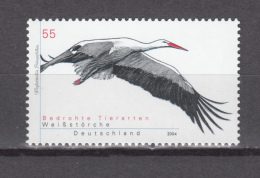 Germany Deutschland 2004,1V,stork,ooievaar,storch,cigogne,Cigüeña,birds,vogels,vögel,oiseaux,pajaros,MNH/Postfris(A2766) - Cigognes & échassiers