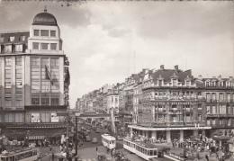 BELGIUM - Bruxelles 1959 - Boulevard Anspach - Lanen, Boulevards