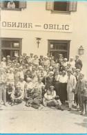 """Kingdom YU. Serbia. Obilic. The Kraljevo-Skoplje Railway Line. The """"Obilic"""" Choral Society. - Stations Without Trains"""