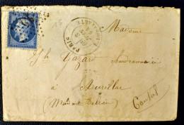 Lettre France - Etoile De Paris 15 - R. BONAPARTE (Indice 3) - 1864 - 1849-1876: Periodo Classico