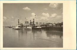 "Kingdom YU. Serbia. The Smederevo Harbour. The ""Presern"" Ship. - Paquebots"