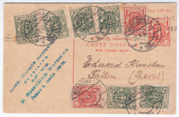 Poland Polska 1922 Warszawa, Sent To Tallinn Reval Estonia - Polen