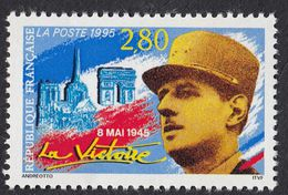 FRANCE - 1995 - Yvert 2944, 8 Mai 1945, La Victoire, 2,80 F, Neuf, Parfait. - Nuevos