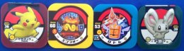 4 Japanese Pokemon Chips - Pokemon