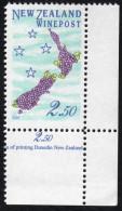 New Zealand Wine Post Land Of Grapes. - New Zealand