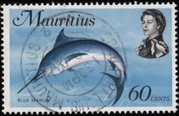 MAURITIUS - Scott #351 Makaira Nigricans / Used Stamp - Mauritius (1968-...)