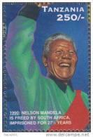 Atheist & Marxist, Nelson Mandela, Former President Of South Africa, Statesman Nobel Prize Anti Apartheid MNH Tanzania - Nobel Prize Laureates