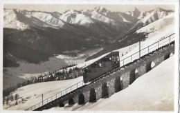 DAVOS → Davos-Parsenbahn, Photokarte Um Die 1945 - GR Graubünden