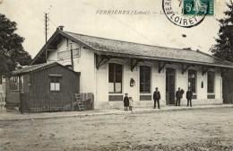 45 FERRIERES En GATINAIS  La Gare Animée - France