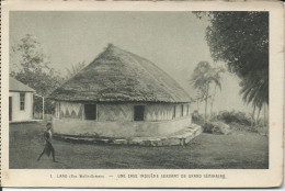 CP - Lano 5 Iles Wallis - Une Case Indigène Servant De Grand Séminaire. - Wallis-Et-Futuna